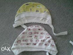 Шапочка байка для новорожденных