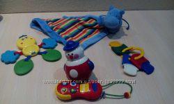 Развивающие игрушки , погремушки Fisher Price, Chicco, Tolo