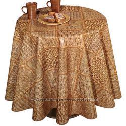 Клеенка для стола вязаное плетение