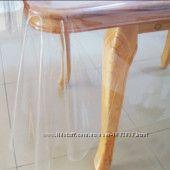 Прозрачное покрытие на стол
