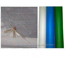 Сетка от комаров, мух, пуха, мошек и пыли на метраж в ассортименте от 15 гр
