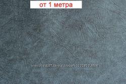 Серый кожвинил для мебели на кухню и в гостинную, для дверей, ширина 96 см
