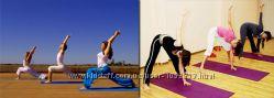 Коврики для занятий спортом для фитнесса, йоги, танцев, ширина 65 см разные