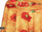 Скатерть клеенчатая Декорама на стол с цветами
