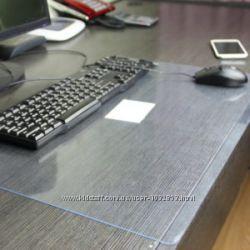 Прозрачный силикон  200 мкм для защиты рабочего стола, школьных парт
