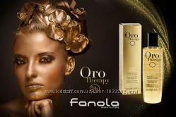 Масло для волос  Oro Therapy Fanola c маслом арганы и частицами золота