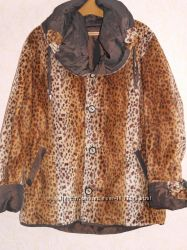 Курточка большего размера  двухсторонняя