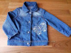 Джинсовый пиджак р. 86