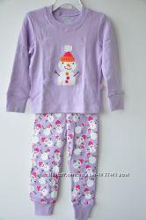 Пижамы для девочек на 12-18м, 2, 3, 4, 5- 6-7-8-9лет - 10 расцветок