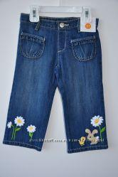 Капри джинсовые на 3 года фирмы Gymboree