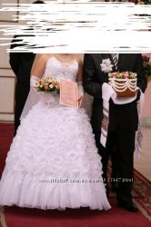 Платье свадебное размер С-М 44