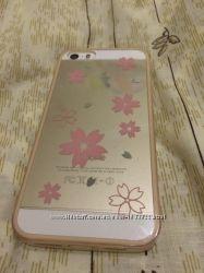 Чехол для iPhone 55s новый силиконовый