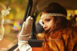 свадебное очелье повязка на голову
