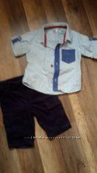 Новая стильная рубашка моднику. Пакет рубашек крохе
