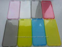 Силиконовый золотой iphone 6 6S 4. 7дюйма  и другие цвета