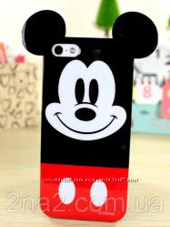 Глянцевый силиконовый чехол для Iphone 4 4S 5 5S