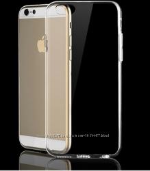 Силиконовый прозрачный чехол iphone 6 6S 4. 7дюйма