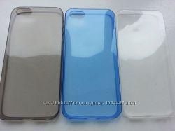 Силиконовые чехлы для Iphone 55S 3цвета