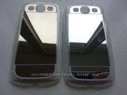 Зеркальный силиконовый чехол Samsung S3 i-9300 S3 Duos