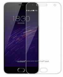 Защитное противоударное стекло на экран для Meizu М2 Note M3 Note