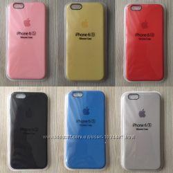 Фирменные Силиконовые чехлы для iphone 5 5s 6 6s 7 8 7pl 8pl X в упаковке