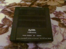 Модем двухдиапазонный Zyxel ADSL2Annex AB с портом Ethernet