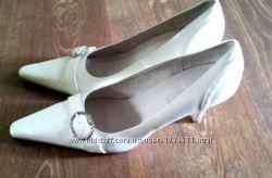 Белые туфли Blossem для свадьбы, размер 40- 41 26, 5-27 см