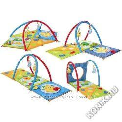 Развивающий коврик для малышей 3 в 1 Chicco прокат у Львові