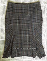 Шерстяная юбка МЕХХ на подкладке р. 36-38 новая.