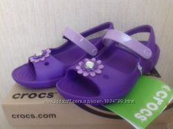 Босоножки фирмы Crocs,  оригинал, 9С, 16 см, распродажа