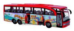 Aвтобус туристический красный