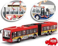 DICKIE Aвтобус City Express 46 cm Красный