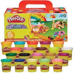 пластилин Play-Doh набор 20 банок