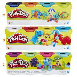 Пластилин Play-Doh в 4-х баночках B5517 448гр Оригинал