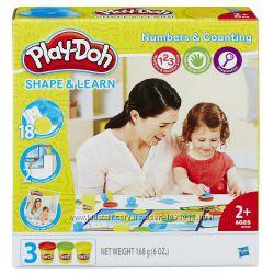 Набор Play - Doh Моделируй и учись цифры и подсчет HASBRO B3406