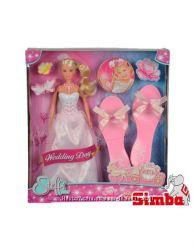 Кукла Штефи Steffi в день свадьбы с аксессуарами Simba