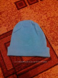 Шапочка голубая