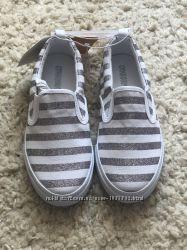 Мокасины балетки туфли тапочки Gymboree 32