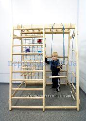 Детский спорт-комплекс Малыш с горкой