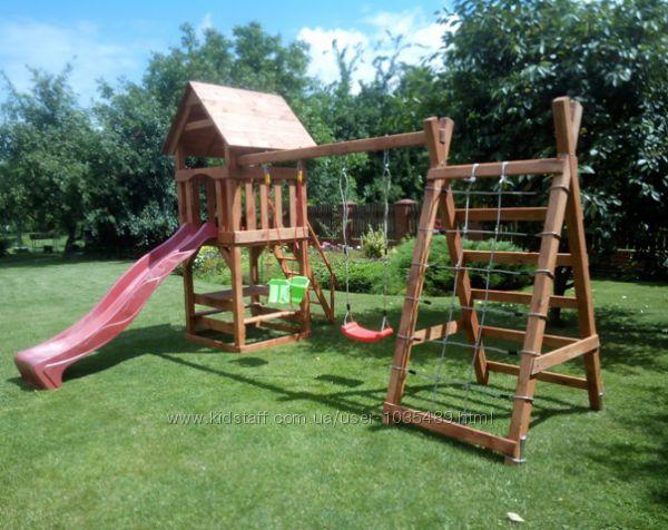 Детский комплекс Отто Большая игра деревянный уличный