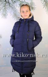 Распродажа Парка на девочку Кико 134-164р с овчиной