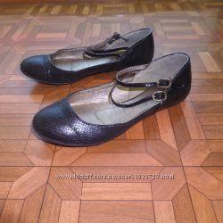 балетки туфли р. 37-38 стелька 24. 5 см. в хорошем состоянии