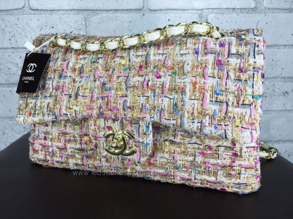 d7751e2e0eed Сумочка Chanel 2. 55 из твида, твидовая, из ткани 11 оригинал, сумка, 2180  грн. купить Киев - Kidstaff | №20268763