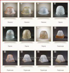 Запасные плафоны абажуры для люстры, бра, торшера, светильника плафон