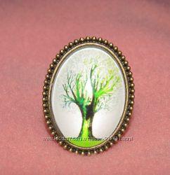 Кольцо дерево жизни