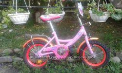 СРОЧНО  Детский велосипед 14 дюйм в Полтаве  для девочки от 3 - 6 лет