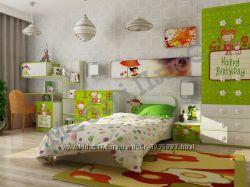 Детская комната, комплект или отдельно. Кровать, шкаф, комод, стол, тумба.