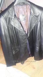Кожаная куртка  подрок