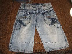 бриджи джинсовые варенки