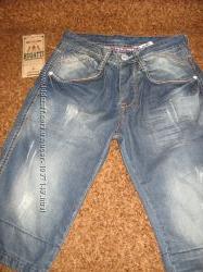 бриджи молодежные джинсовые размер -31